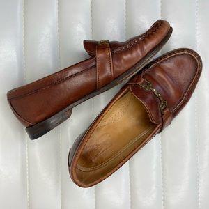 Allen Edmonds Leather Horse-Bit Loafers